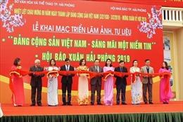 Triển lãm ảnh, tư liệu 'Đảng Cộng sản Việt Nam - sáng mãi một niềm tin'