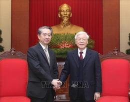 Tổng Bí thư, Chủ tịch nước Nguyễn Phú Trọng tiếp xã giao Đại sứ Trung Quốc