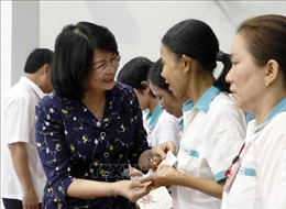 Phó Chủ tịch nước dự Lễ kỷ niệm 89 năm ngày thành lập Đảng Cộng sản Việt Nam tại Vĩnh Long