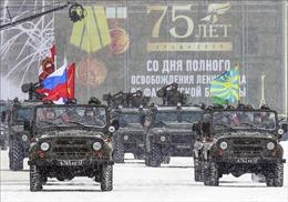 Nga diễu binh kỷ niệm 75 năm giải phóng Leningrad