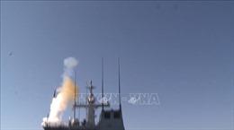 Hải quân Hàn Quốc tiến hành tập trận khẳng định khả năng sẵn sàng chiến đấu