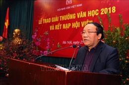 Không có tác phẩm thơ, văn xuôi giành giải thưởng văn học năm 2018