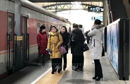 Đoàn nghệ thuật Triều Tiên lưu diễn Trung Quốc