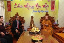 Bí thư Thành ủy TP Hồ Chí Minh chúc Tết các cơ sở, chức sắc tôn giáo