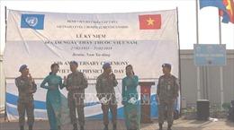 Bệnh viện dã chiến cấp 2 kỷ niệm Ngày Thầy thuốc Việt Nam tại Nam Sudan
