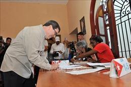 Cuba phản đối tuyên bố của Mỹ về trưng cầu ý dân