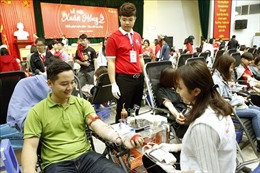 Lễ hội Xuân hồng lần thứ XII tiếp nhận được gần 11.300 đơn vị máu