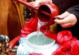 Linh thiêng Lễ rước nước trong Lễ hội Đền Trần, Thái Bình