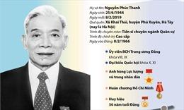 Quá trình công tác của nguyên Phó Chủ tịch Quốc hội Nguyễn Phúc Thanh