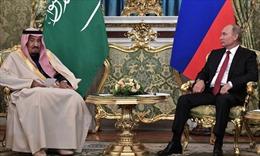 Quốc vương Saudi Arabia và Tổng thống Nga tìm cách ổn định thị trường dầu mỏ