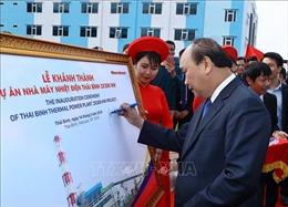 Thủ tướng dự lễ khởi công một số dự án hạ tầng kinh tế trọng điểm tại Thái Bình