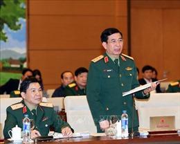 Phiên họp thứ 32 Ủy ban Thường vụ Quốc hội: Xây dựng lực lượng Dân quân tự vệ vững mạnh, rộng khắp