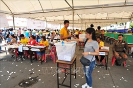 Cuộc đua giành lá phiếu cử tri tại Thái Lan