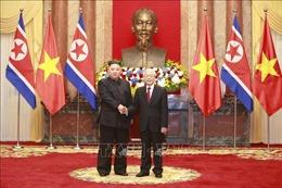 Lễ đón Chủ tịch Triều Tiên Kim Jong-un thăm hữu nghị chính thức Việt Nam