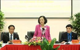 Trưởng ban Dân vận Trung ương làm việc tại Khu Kinh tế Hải Phòng