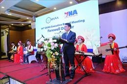 TTXVN tổ chức tiệc chia tay các đại biểu tham dự Hội nghị OANA lần thứ 44