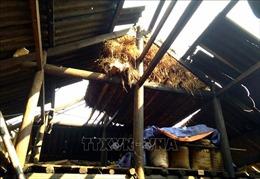 Mưa đá kèm tố lốc tại Yên Bái làm 198 căn nhà bị sập, tốc mái