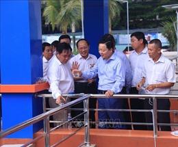 Bộ trưởng Trần Hồng Hà thăm Nhà máy xử lý nước thải Sóng Thần 2 và Hiệp hội Nhà vệ sinh Việt Nam