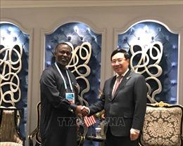 Thúc đẩy hợp tác thực chất, hiệu quả với Liberia và Djibouti