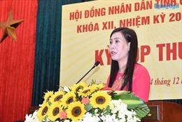 Bà Bùi Thị Quỳnh Vân được bầu giữ chức Phó Bí thư Tỉnh ủy Quảng Ngãi
