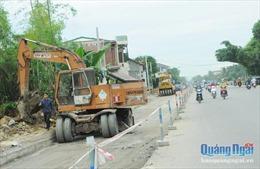 Dự án mở rộng Quốc lộ 1 tại Quảng Ngãi vẫn vướng mắc giải phóng mặt bằng