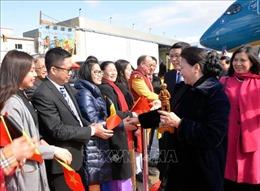 Chủ tịch Quốc hội Nguyễn Thị Kim Ngân thăm Đại sứ quán và gặp mặt cộng đồng người Việt tại Bỉ