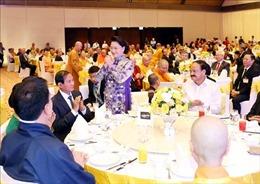 Chủ tịch Quốc hội chủ trì Tiệc chiêu đãi các đại biểu tham dự Đại lễ Vesak 2019