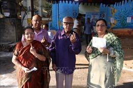 Kết thúc cuộc bầu cử 'marathon'tại Ấn Độ