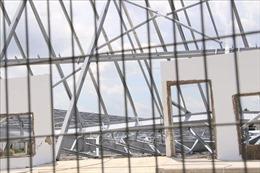 Sập khung nhà xưởng làm 3 người thương vong tại Bình Dương