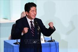 Thủ tướng Nhật Bản tái khẳng định lộ trình thực thi hiến pháp mới vào năm 2020