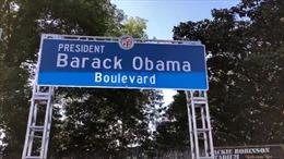 Một đại lộ ở California mang tên cựu Tổng thống Obama