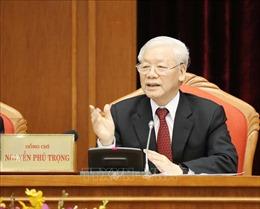 Hội nghị lần thứ 10 Ban Chấp hành Trung ương Đảng khóa XII: Ngày làm việc thứ nhất dưới sự chủ trì của Tổng Bí thư, Chủ tịch nước Nguyễn Phú Trọng