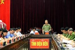 Bộ trưởng Bộ Công an Tô Lâm làm việc tại tỉnh Điện Biên