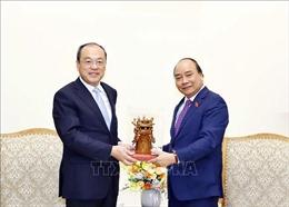 Thủ tướng Nguyễn Xuân Phúc tiếp Tỉnh trưởng Vân Nam (Trung Quốc)