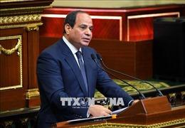 Tổng thống Ai Cập: Các nước Arab không khoan nhượng với mối đe dọa nhằm vào Trung Đông