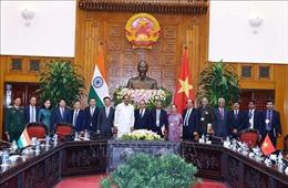 Thủ tướng Nguyễn Xuân Phúc hội kiến Phó Tổng thống, Chủ tịch Thượng viện Ấn Độ