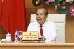 Phó Thủ tướng Trương Hòa Bình tiếp Đoàn đại biểu người có công tỉnh Nghệ An
