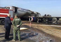 Điều tra vụ cháy máy bay tại Nga theo hướng lỗi của phi công