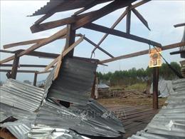 Chung tay hỗ trợ gần 70 hộ đồng bào dân tộc thiểu số thiệt hại do giông lốc đầu mùa