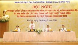 Quảng Ninh và Ngân hàng Nhà nước dẫn đầu bảng xếp hạng Chỉ số cải cách hành chính năm 2018