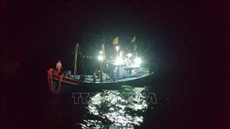 Kịp thời cứu 9 thuyền viên bị nạn trên biển Vũng Tàu