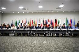 Lãnh đạo EU cảnh báo chiến tranh thương mại gây tổn hại tăng trưởng toàn cầu