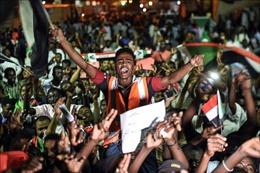 Phe biểu tình bác bỏ kế hoạch tổng tuyển cử của Hội đồng quân sự chuyển tiếp Sudan