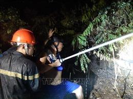 Khống chế đám cháy rừng tại Nam Đàn, Nghệ An