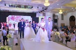 Thái Nguyên lần đầu tổ chức Lễ cưới tập thể cho công nhân lao động