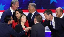 Đêm tranh luận đầu tiên của ứng viên đảng Dân chủ ra tranh ghế tổng thống Mỹ