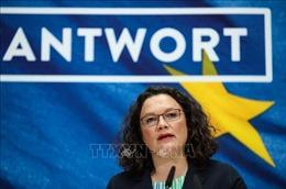 Chủ tịch đảng Dân chủ xã hội Đức tuyên bố từ chức