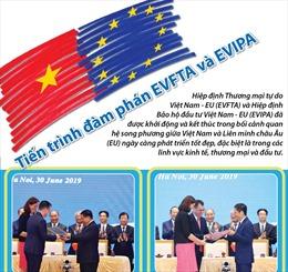 Tiến trình đàm phán EVFTA và EVIPA