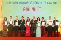 Thủ tướng: Công tác thông tin đối ngoại nâng cao uy tín, vị thế Việt Nam trên trường quốc tế