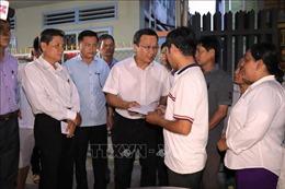 Thăm hỏi gia đình nạn nhân vụ tai nạn đặc biệt nghiêm trọng tại Tây Ninh